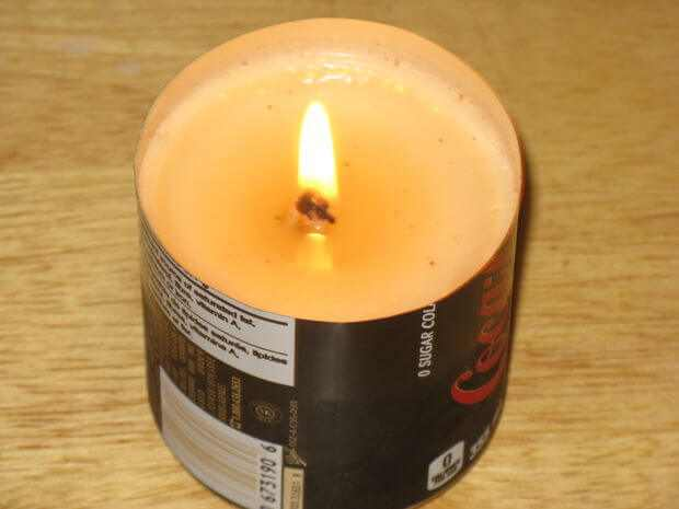 bacon fat candle