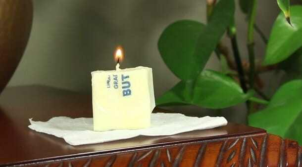 butter candle