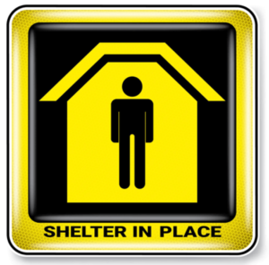 Image result for sheltering in place images